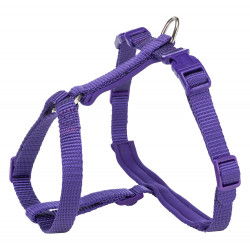 Trixie H XL Harness with Premium Lead, size 33-57cm/13mm, purple. for cats Harnais