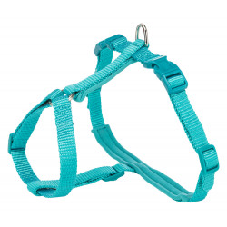 Trixie XL Harness and Premium Lead, size 33-57cm/13mm, Colour: ocean. for cats. Harnais