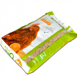 Ração mista tradicional para camadas orgânicas, 20KG. SOA-10661350 Alimentos