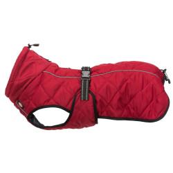 Trixie Cappotto Minot taglia L scollatura a L max 55 cm. colore rosso. per cane. TR-67988 abbigliamento per cani