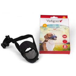 Vadigran Adjustable nylon muzzle from 18 to 44 cm. T S. for Beagle type dogs. Muselière