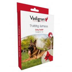 Vadigran Black Halter Harness . size M. 41-56 cm. for dog. dog harness
