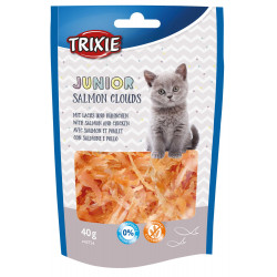 Trixie Salmon Clouds Junior Treats. salmon and chicken. for cats, Weight: 40 g Nourriture