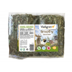 Vadigran Timothy Block, 800 grams. complementary food for rabbits and rodents. Nourriture lapin