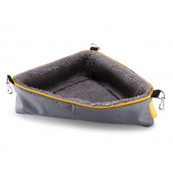 Vadigran Humpy corner basket. 35 x 25 x 25 cm. for rodents. Beds, hammocks, nesters
