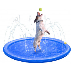 Flamingo Pet Products Fresk Lenny watering mat. ø 1 meter. for dog. Tapis rafraichissant