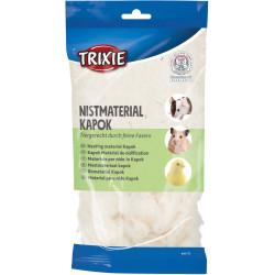 Trixie Nistmaterial Kapok Gewicht: 40g. für Nagetiere. TR-60713 Heu, Streu, Späne, Späne