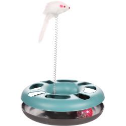 Flamingo Pet Products Jouet Laetitia bleu cercle. ø24 cm. pour chats. Jeux