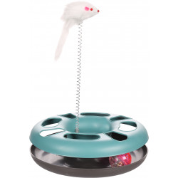 Flamingo Pet Products Laetitia blue circle toy. ø24 cm. for cats. Games