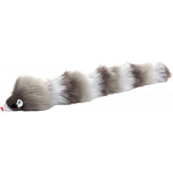 Flamingo Pet Products Grey long mouse toy. 28 cm. for cats. Games