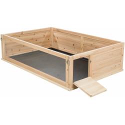 Kryty kojec, wymiary: 100 × 30 × 60 cm. dla świnek morskich. TR-62485 Trixie