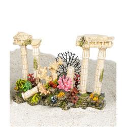 Vadigran Decoration Roman antique columns. 42 cm. aquarium. Decoration and other