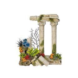 Vadigran Décoration 2 Colonnes antiques romaines. 24 cm. aquarium. Décoration et autre
