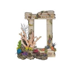 Vadigran Décoration 2 Colonnes antiques grecques. 29.5 cm. aquarium. Décoration et autre