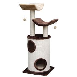 Vadigran Arbre à chat Kadi brun beige. hauteur 118 cm. pour chat. Arbre a chat