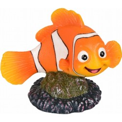 Flamingo FL-410222 Clown fish, LETO, size: 9 X 6 X 8 cm, aquarium decoration Decoration and other
