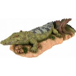 Flamingo FL-410217 Crocodile, FAUNA, size: 24 x 11 x 6 cm, aquarium decoration. Decoration and other