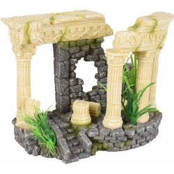 Flamingo Pet Products Ruin colossus columns. 21 x 11 x 15 cm. Aquarium decoration. Decoration and other