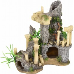 Flamingo ruine colossos colonnes decoration aquarium FL-410196 Dekoration und Sonstiges