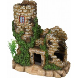 stone in ruins towers decoration aquarium Decoration and other Flamingo FL-410195