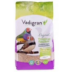Vadigran Original seeds for exotic birds. 4 Kg. Nourriture graine