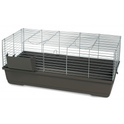 Vadigran Cage grand rongeur Baldo 100, couleur moka, 100 x 53 x 46 cm. rongeur Cage