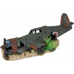 AZUR PLANE 26 x 13 x 7 cm aquarium decoration Decoration and other Flamingo FL-410202