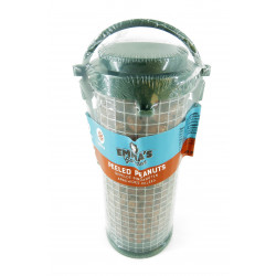 Vadigran Recycled dispenser with peeled peanuts 16 cm. for birds Nourriture graine