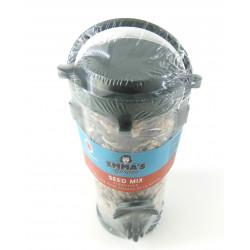 Vadigran Recycled dispenser with Nature Birds Mix 16 cm. for birds Nourriture graine