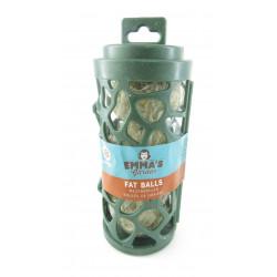 VA-18092 Vadigran Dispensador reciclado con bola de grasa de 17 cm. para pájaros Nourriture graine