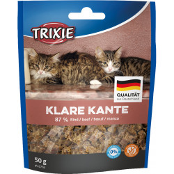 Trixie Klare Kante Beef Cube for cats. Nourriture