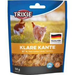Trixie Klare kante turkey cube cat treat. Nourriture