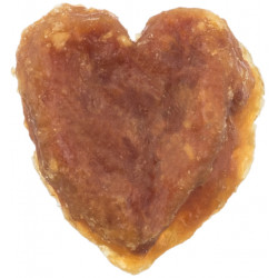 Trixie Heart-shaped chicken treat for dogs. Nourriture