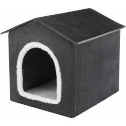 TR-37912 Trixie Refugio Livia para perros y gatos pequeños, tamaño: 50 × 50 × 54 cm. Dormir