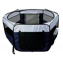 Enclos, polyester ø 90 x 40 cm pour lapins, cochons d'inde Transport et cage Trixie TR-64052