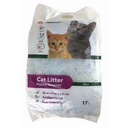 Flamingo Pet Products Litière silica . granules moyen. 17 litres. soit 7 kg. litière pour chat. Litiere