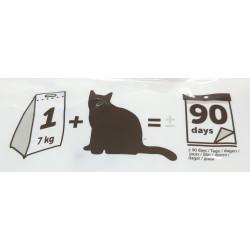 Flamingo Pet Products Silica bedding . medium granules. 17 liters. or 7 kg. cat litter. Litter