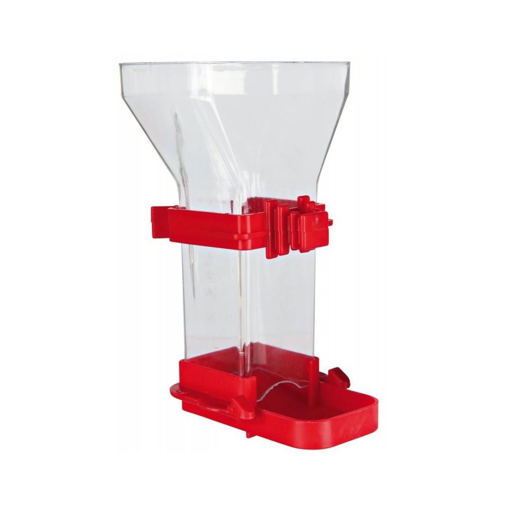 Trixie Distributeur de nourriture, plastique 150 ml 12 cm, oiseaux. TR-5418 Mangeoires , abrevoir