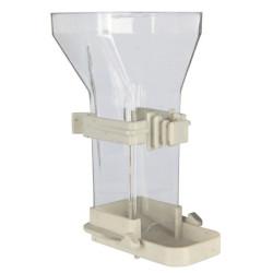 Food dispenser, plastic 150 ml 12 cm Feeders, watering trough Trixie TR-5418