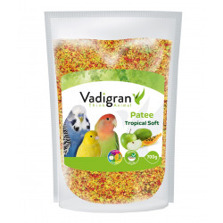 Vadigran Tropical soft food 700 gr. Complementary food for birds. Food and drink