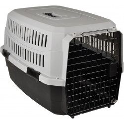 Flamingo Pet Products Carrying crate CARGO, size S. 39 X 58 X H 33 cm, color black, for dog. Transport cage