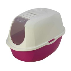 Flamingo Maison de toilette PLATO HAWAI pour chat 39 x 55 x 41 cm FL-560726 Maison de toilette