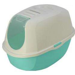 Maison de toilette PLATO HAWAI pour chat accessoire litière Flamingo FL-560726
