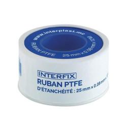 Interplast PTFE sealing tape Interfix 25mm raccord laiton