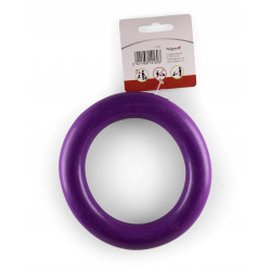 Vadigran Purple rubber ring ø 15 cm. Dog toy. Jeux