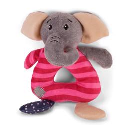 Vadigran Peluche onzie éléphant 20 cm . jouet pour chien. Peluche pour chien