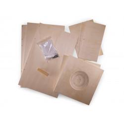 Vadigran Wooden nesting box Calopsitte in kit H 30 cm. for birds Nichoir oiseaux