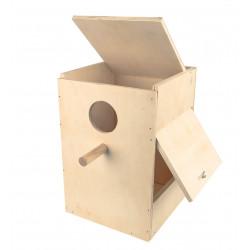 Vadigran Wooden nesting box Rosella in kit H 40 cm. for birds Nichoir oiseaux