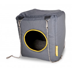 Vadigran Humpy house. 20 x 20 x 20 cm. for rodents. Beds, hammocks, nesters