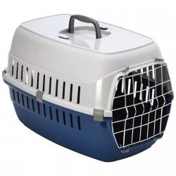 Flamingo Cage de transport pour chien ou chat, taille: 37 x 55 x H 35 cm - couleur aléatoire. FL-506221 Cage de transport